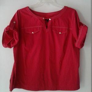 Talbot's Red Shirt